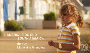 -- Une petite fille part sur une île avec sa mère, qui lui fait croire qu'elles vont en Amérique du Sud -- L'Amérique du Sud est court-métrage de Marjolaine Grandjean, produit par 10:15 (Sébastien Haguenauer), dont j'ai fais l'image.